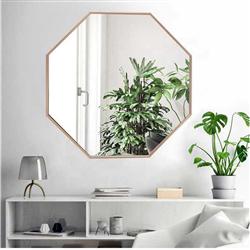 Зеркало Ottagono в латунной раме