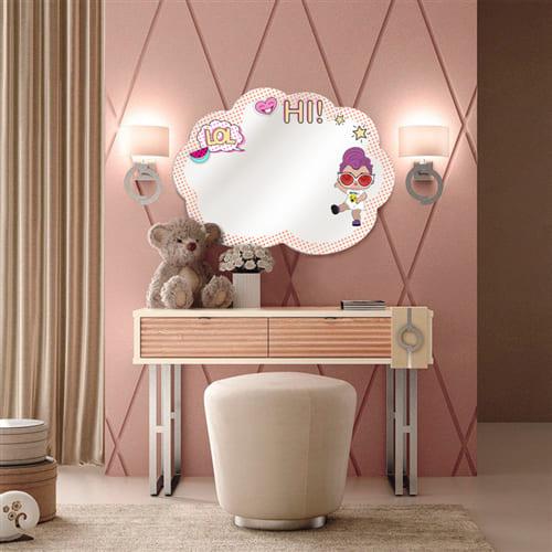 Зеркало в детскую LOL Cloud Art. CR4010