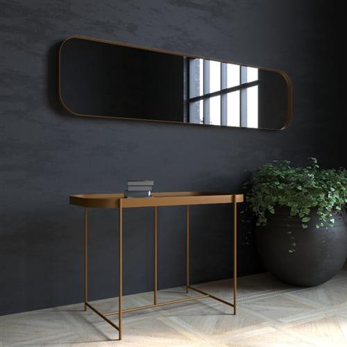 Зеркало в металлической раме Horizont Ultra