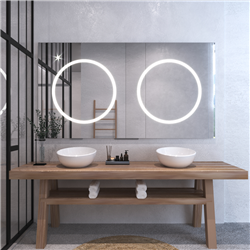 Зеркало с подсветкой Сoppia