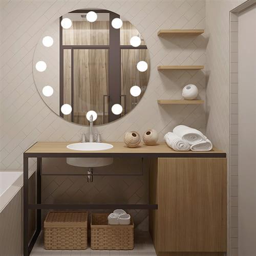 Зеркало с подсветкой Make Up