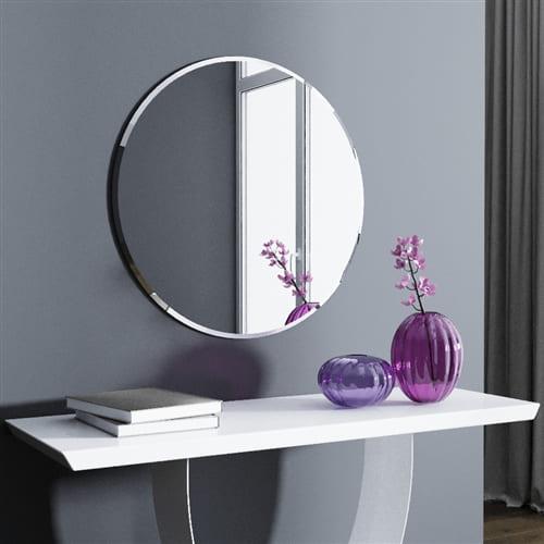Круглое зеркало с фацетом Solo Art. 215