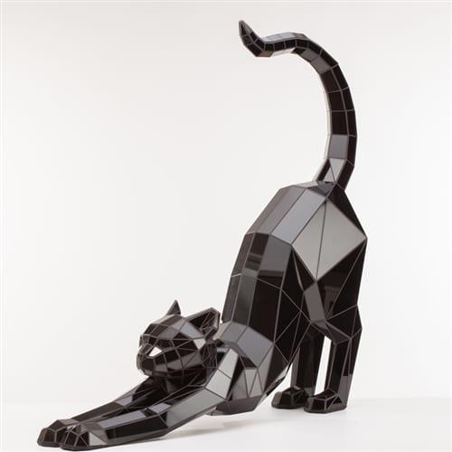 Полигональная скульптура Кошка Art. 555
